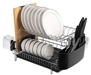 egouttoir vaisselle inox deux etages